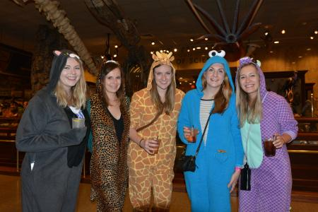women in onesies