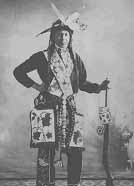 Ojibwe Indian, Minnesota, circa 1900