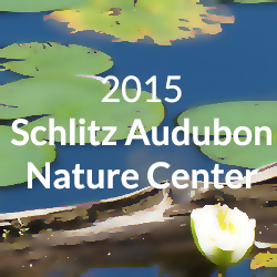 schlitz audubon nature center button