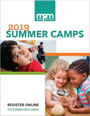 summer camp guide booklet cover
