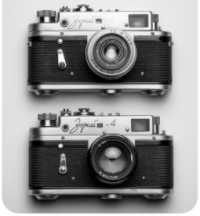 two cameras