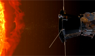 nasa parker probe near the sun