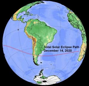 eclipse path across globe